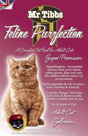 SALMON SUPER PREMIUM ADULT CAT FOOD ~ 2KG BAGS